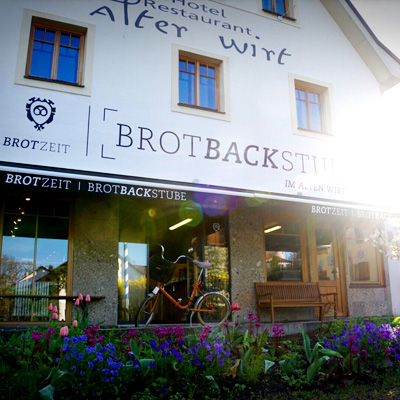 Lokalbäckerei Brotzeit, Brotbackstube in Grünwald