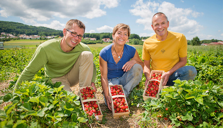 Lokalbäckerei Brotzeit, Grünwald, Partner: Die Beerenbauern